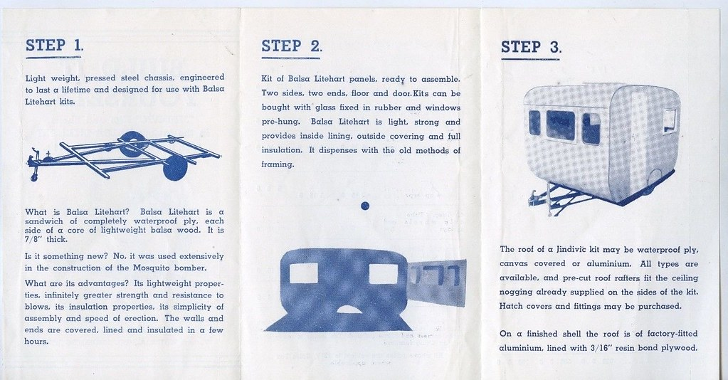 How to build a caravan - 1950s - part 2   Just three easy st