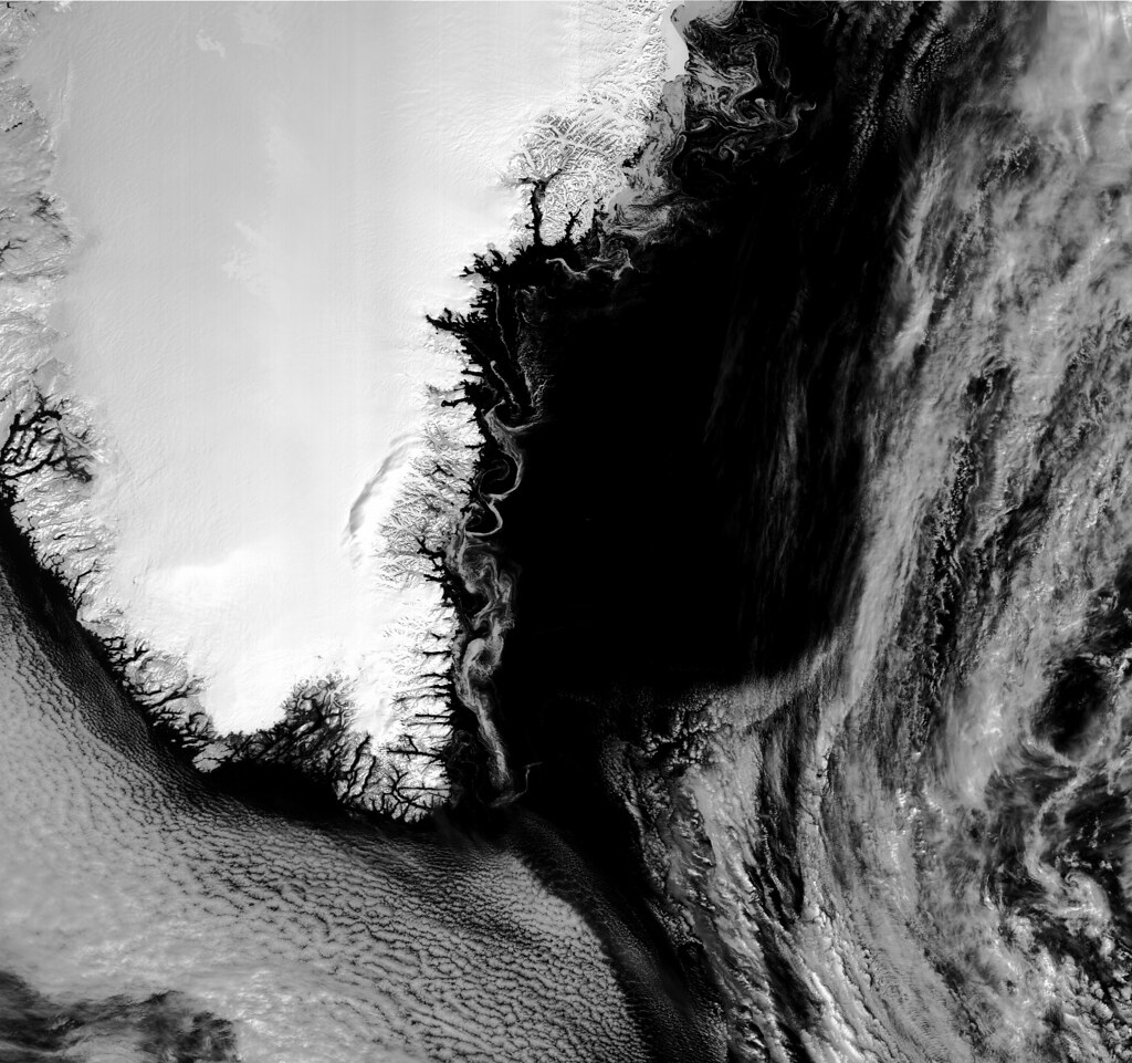 Sentinel-3B first images - Greenland