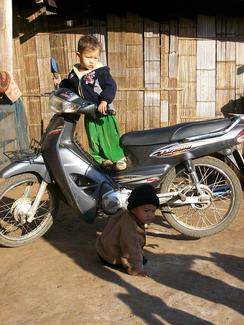 Photo taken in 2008, in a Lisu village in the town of Sapong, Northern Thailand