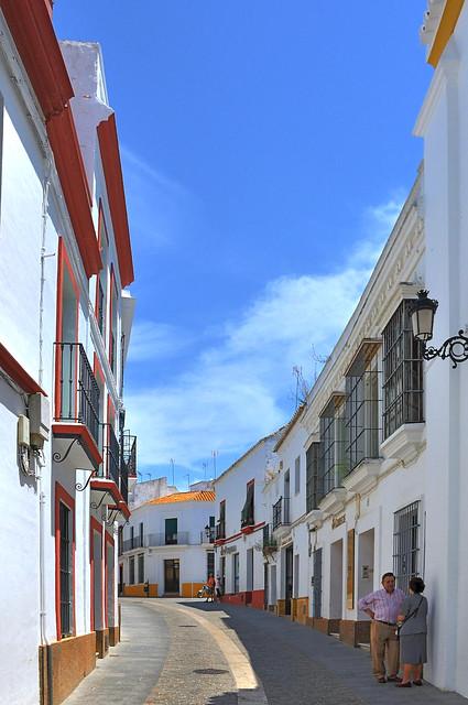Carmona ( Province of seville )  : Post Street