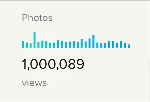 one million views screenshot flickr stats milestone view pro