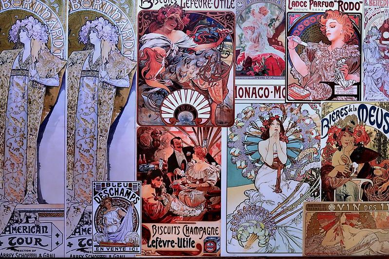IMG_9857 Alfons Mucha 1860-1939 Paris Prague  Prague  Galerie d'Art.
