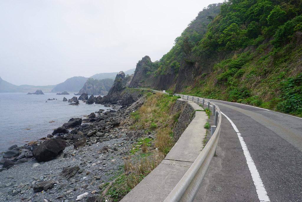 断崖の沿岸
