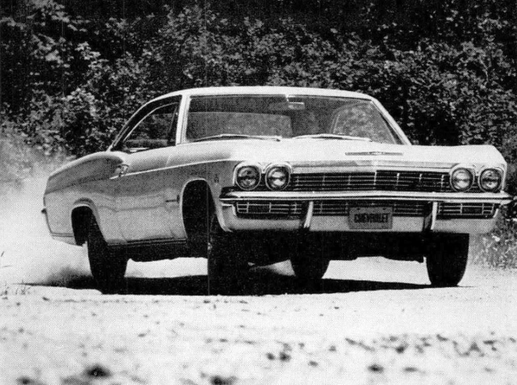 1965 Chevrolet Impala Sport Coupe August 1964 Press Photo