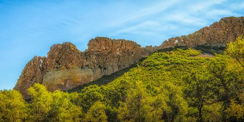hwy12 highwayoflegends profilerock sanluisvalley dike geology vulcanism aguilar colorado unitedstates us