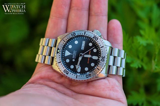 That completed mod 👌 #Seiko #SKX007 with stainless steel