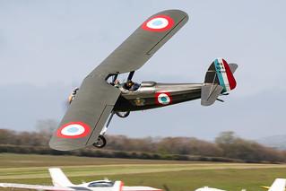 Morane-Saulnier MS.315E D2   G-BZNK (354)   Private   by Kyle Greet