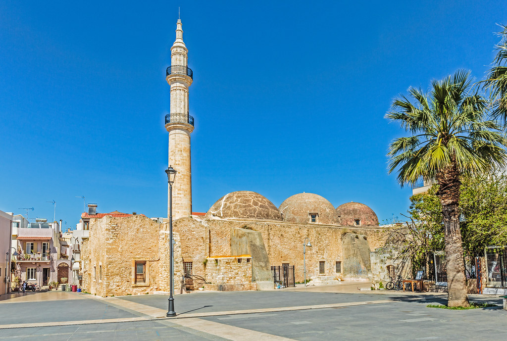 The Ottoman Mosque Old Ottoman Mosque At The Mikrasaton Sq Flickr