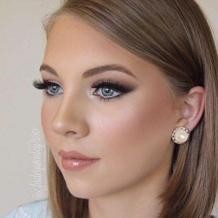 Best Ideas For Makeup Tutorials : eye makeup blue eyes brown hair pale skin .
