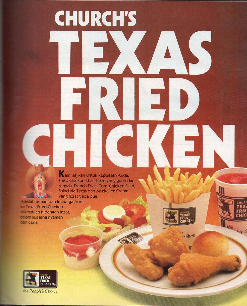 Texas Fried Chicken - Majalah Eksekutif, Februari 1990