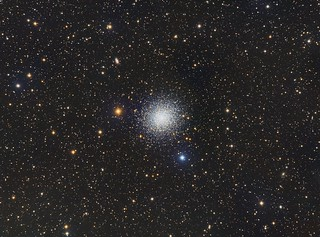 M13 - The Great Cluster in Hercules   by Paddy Gilliland @ Image The Universe