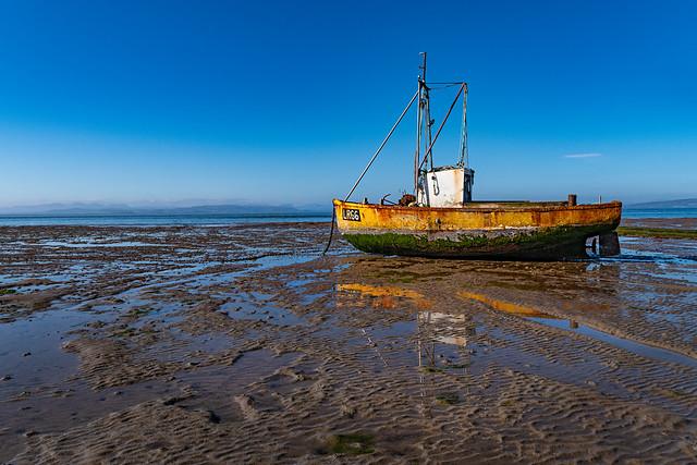 Low tide in Morecambe