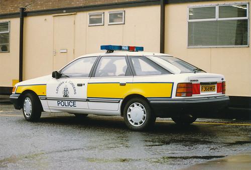 Ford Granada 4x4 2.9i F368 WSF 'ZH FT68',L&B Traffic Dept.Livingston.Fettes 1989 | by landshark2084