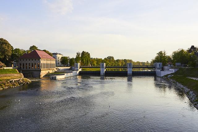 Eastern Neisse in Nysa (Nysa Kłodzka)