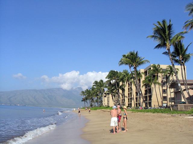 Sugar Beach Condo in Maui where we stayed