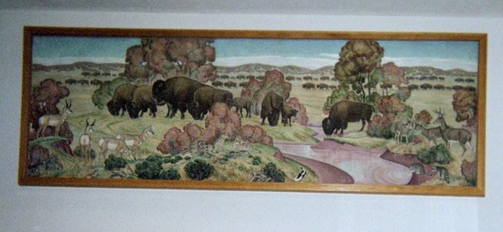 Edmond, Oklahoma Mural