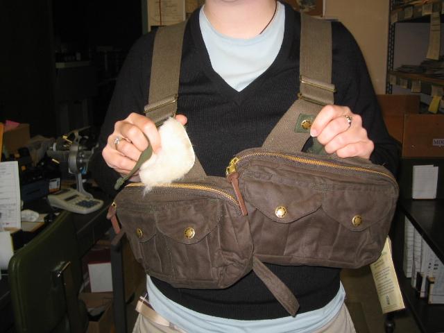 Facing shot: fly vest