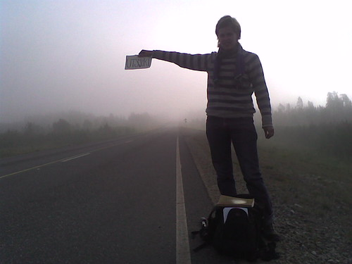 Hitchhiking in Lapland | by Mesq