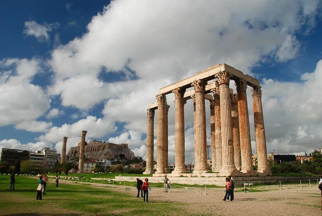 Athens - Temple of Zeus