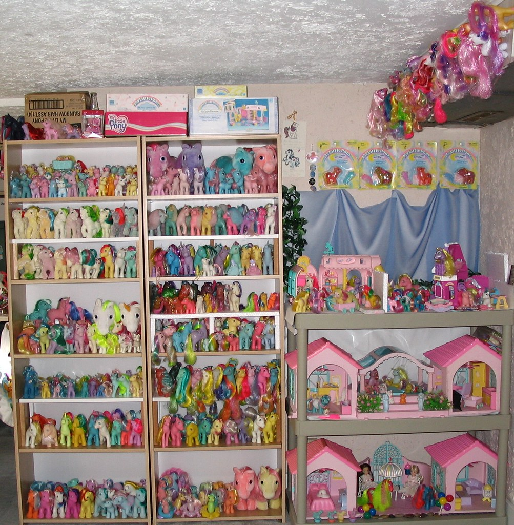 My Little Pony Room Finally Found Somthing To Do With My