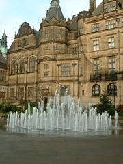 Fountain in Peace Gardens - Sheffield | by SubtleBlade