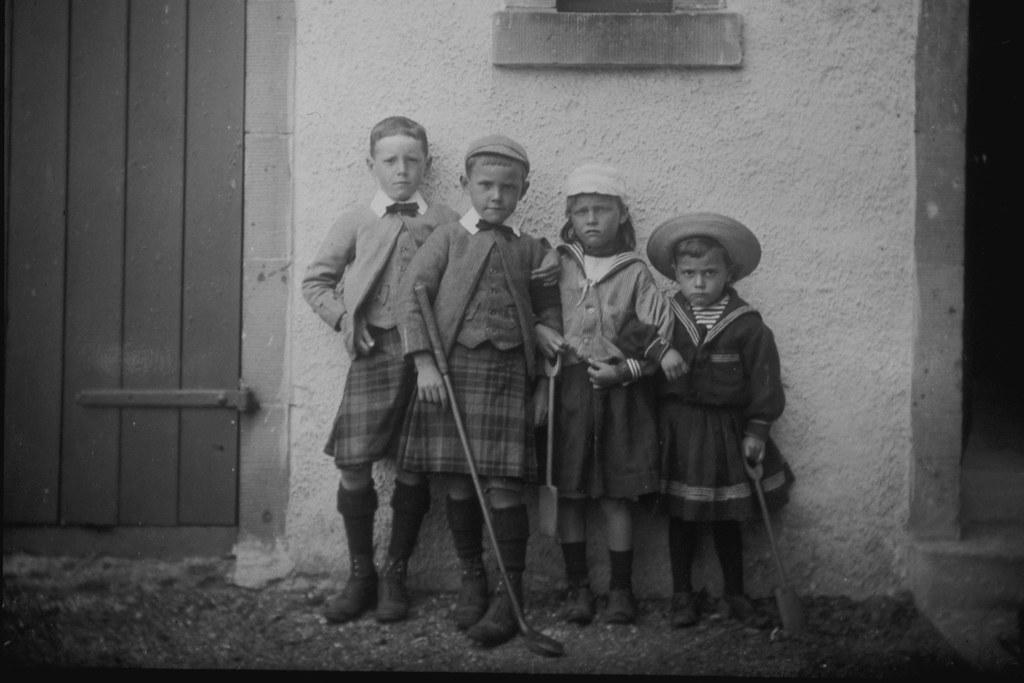 Victorian children, 1890s | These four children had their ph… | Flickr