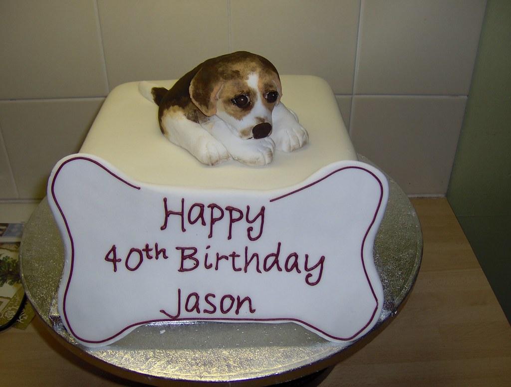 Groovy Beagle Puppy Birthday Cake Its All Edible Sweet Sensations Funny Birthday Cards Online Necthendildamsfinfo