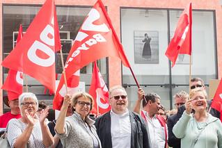 Demo gegen das Polizeiaufgabengesetz in Hof | by SPD Hof