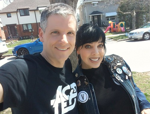 Bif Naked and me   by Mike Boon