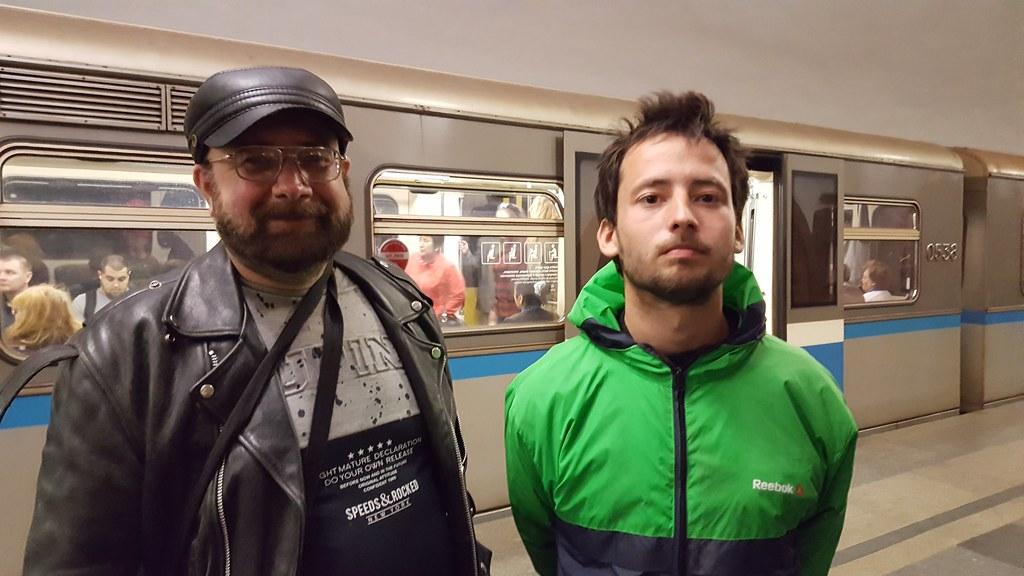 Мой брат и его сын Ярослав