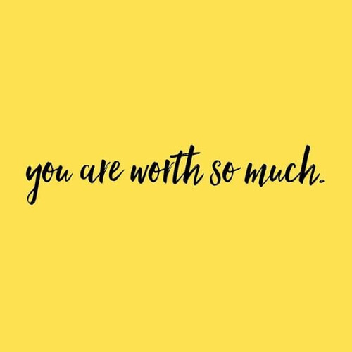 Life Quotes : You are worth so much https://is.gd/ASJvRS ...