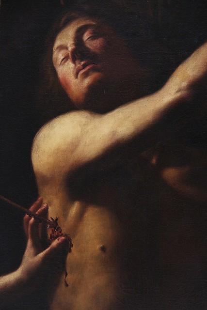 Saint Sebastian aided by Irene (17th century) # 1
