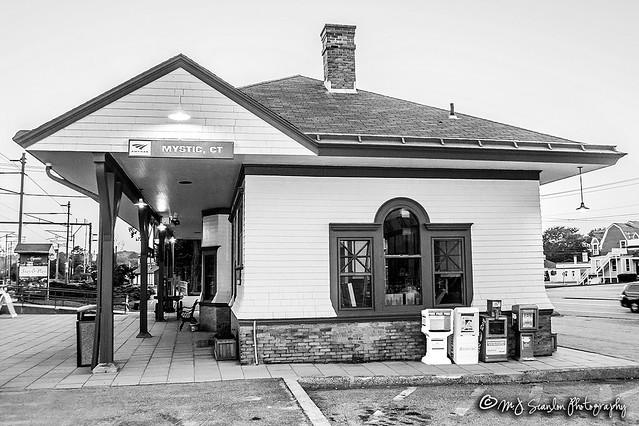 Amtrak Station   Mystic, Connecticut