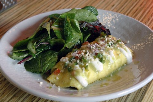 Hen of the Woods Omelet | by Bitches Who Brunch