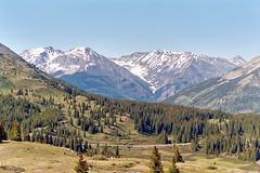 San Juan Mountains from Molas Pass, Colorado