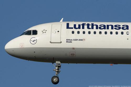 Lufthansa D-AISW A321-231 LH 238 FRA-FCO