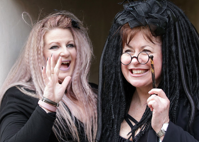 Portrait taken during the April 2018 Whitby Gothic Weekend
