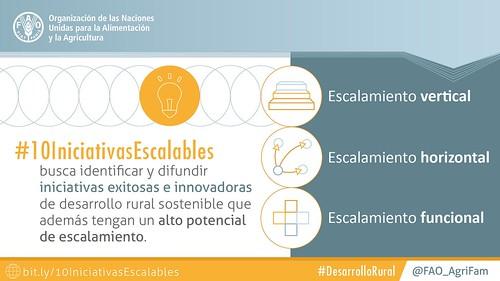 10 iniciativas innovadoras y escalables para el desarrollo rural sostenible