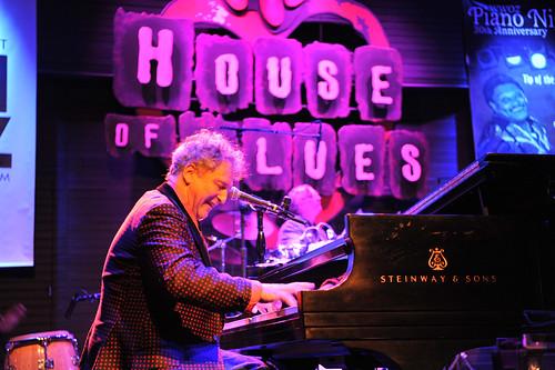 David Torkanowsky at WWOZ's 30th Annual Piano Night - April 30, 2018. Photo by Michael E. McAndrew Photography.