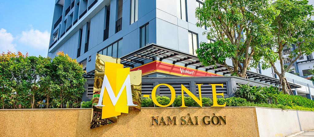 Tại căn hộ M-One quận 7 có sẵn siêu thị Vinmart phục vụ cho cư dân.