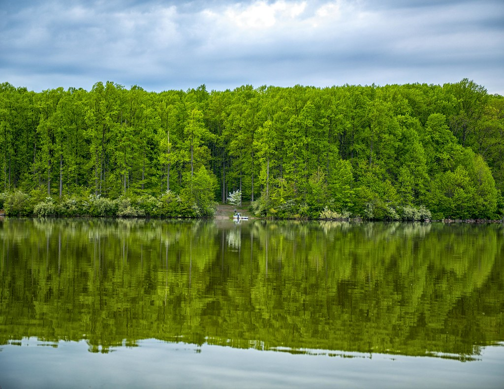 Chambers Lake in the Spring