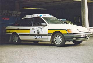 Ford Granada 2.8 'Concept', D108 HLS 'ZH T08',L&B Traffic HQ, Fettes.1986 | by landshark2084