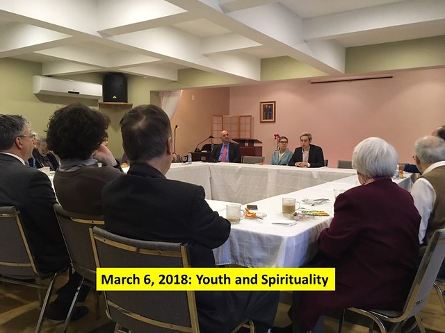 """Canada-2018-03-06-UPF-Montreal Addresses """"Youth and Spirituality"""" with Religious and Civil Society Representatives"""