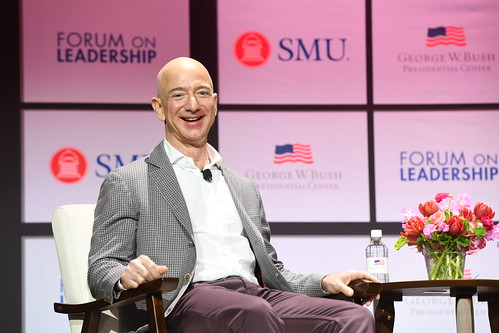 Closing Conversation with Jeff Bezos, Co-Presented with SMU | by TheBushCenter