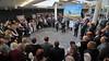 Eröffnung der Ausstellung Bilderwelt des Banater Malers Franz Ferch im Foyer der Donauhalle