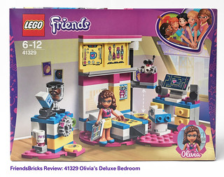Review: 41329 Olivia's Deluxe Bedroom | by SuzEaton