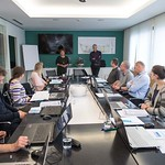 2018 / V CČN Domžale Kamnik s simulatorjem obvladovali procese na čistilni napravi_prof. Henri Spanjers_12. in 13. 4. 2018 / Photo:  Klemen Razinger