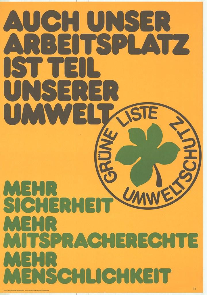Plakatserie zur Landtagswahl 1978