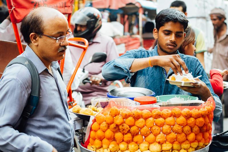 Ram Ladoo Vendor, New Delhi India
