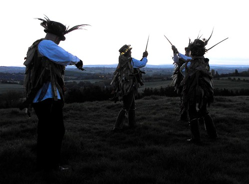 Let's Dance, Beltane at Wedgwood's Monument, Staffordshire